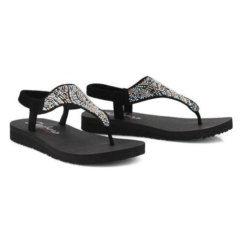 Sandale tong, Mediation, noir,femme