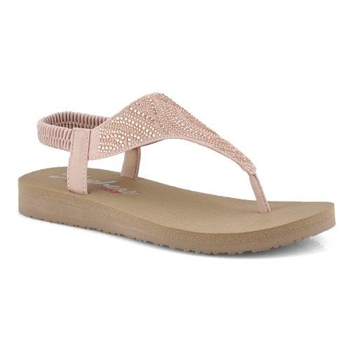 Sandale tong, Mediation, rose,femme