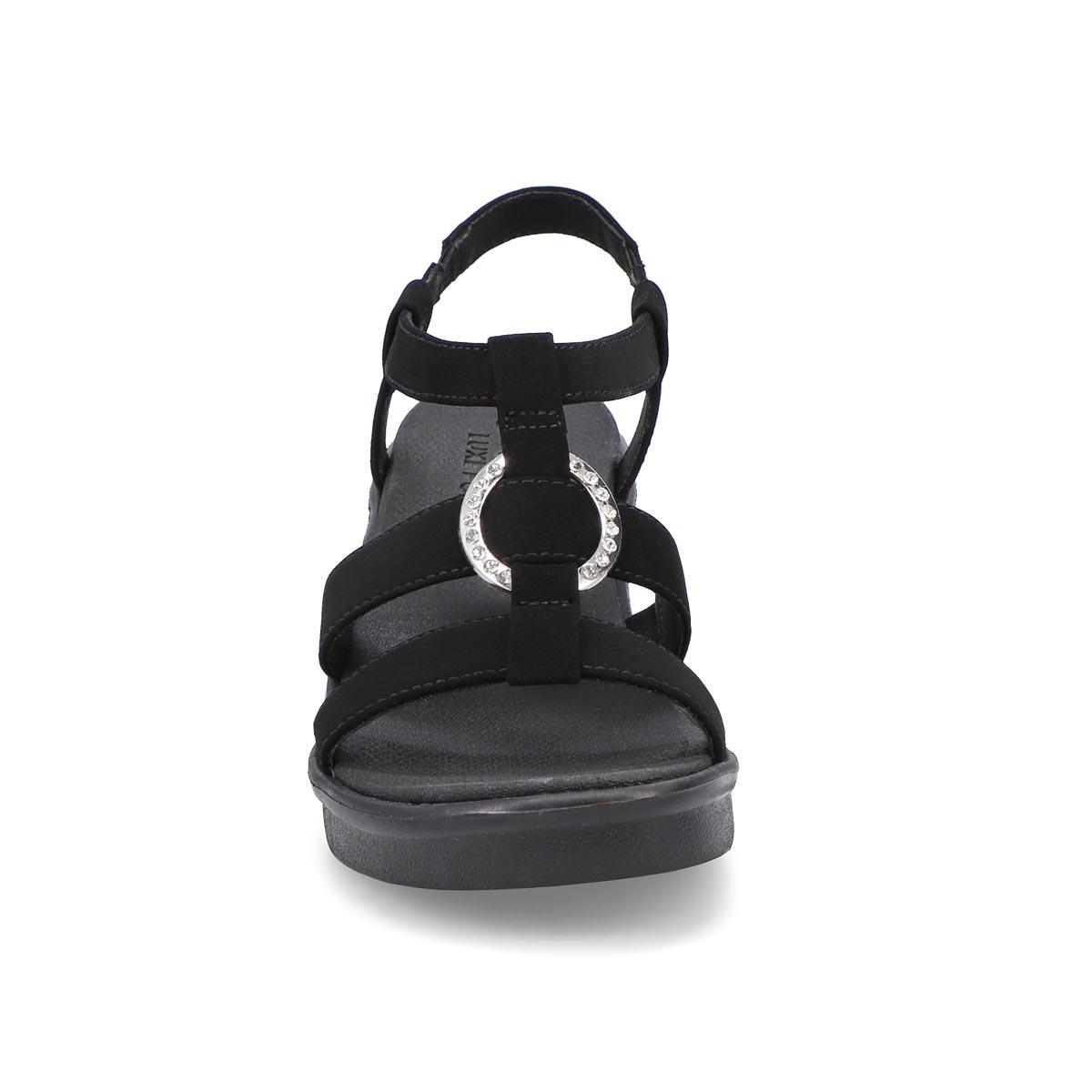 Women's Rumble On Dance Away Sandals - Black