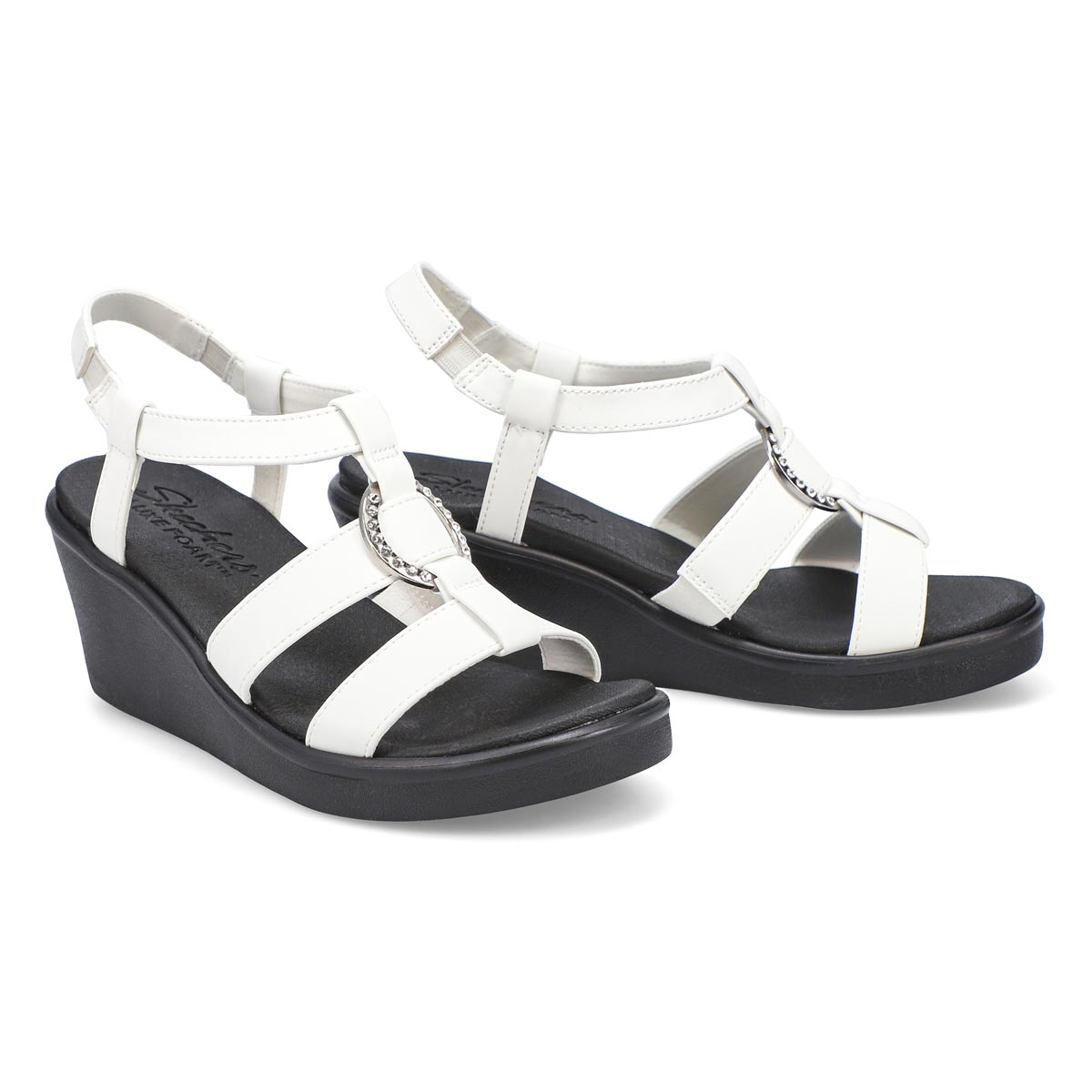 Women's Rumble On Dance Away Sandals - White