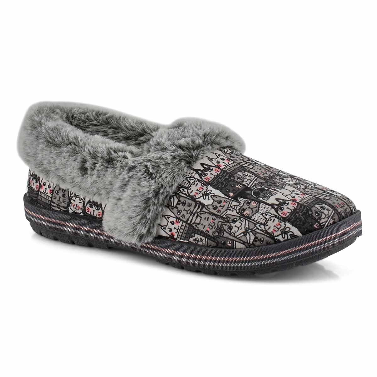Women's Bobs Too Cozy Slipper - Grey/Multi
