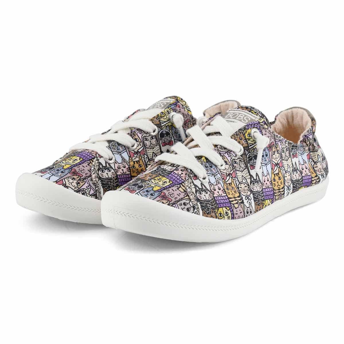 Women's Bobs Beach Bingo Kitty Cruiser Sneaker-Mul