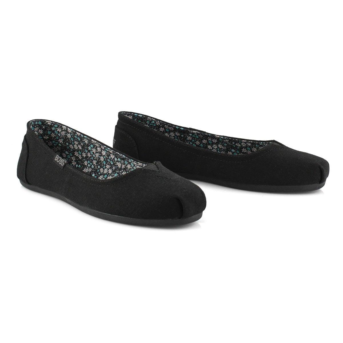 Women's Bobs Plush Turning Point Shoe - Black