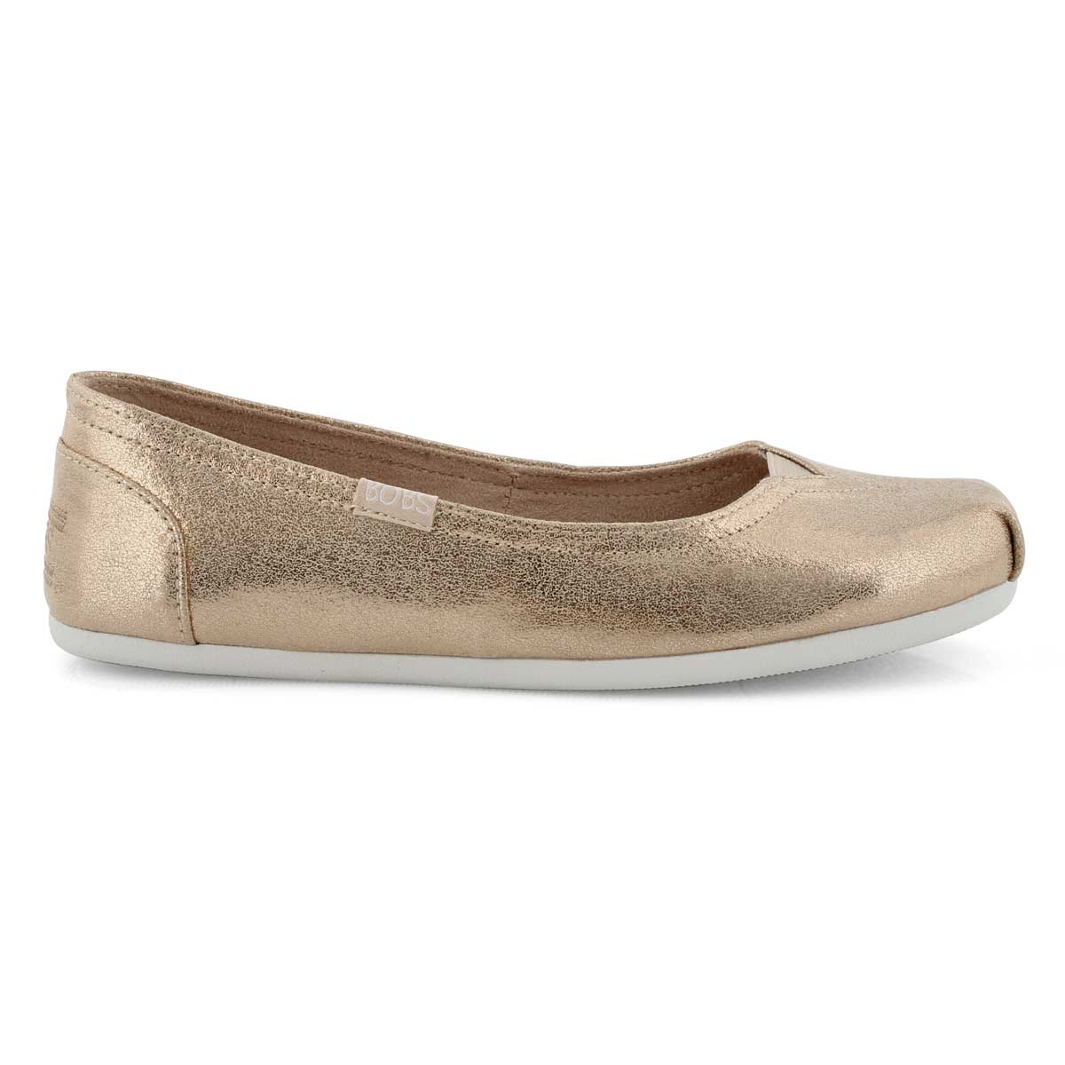 Women's BOBS PLUSH champagne slip ons shoes
