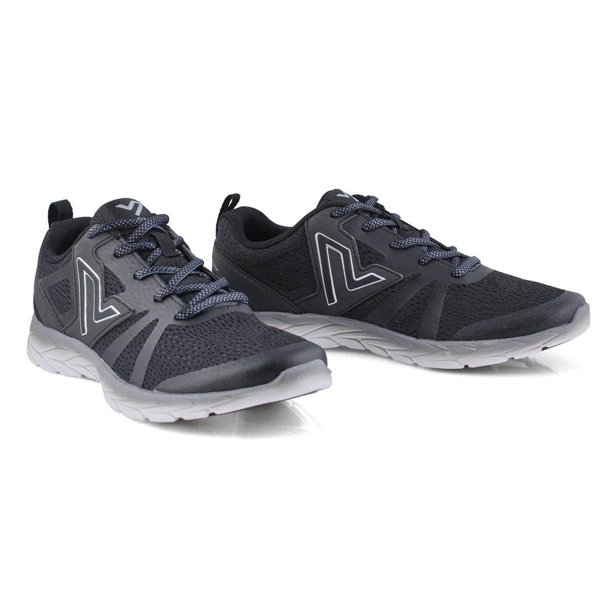 Lds 335Miles black running shoe