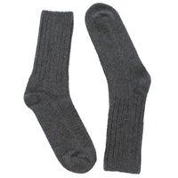 Chaussettes mi-mollet DURAY, gris, femmes