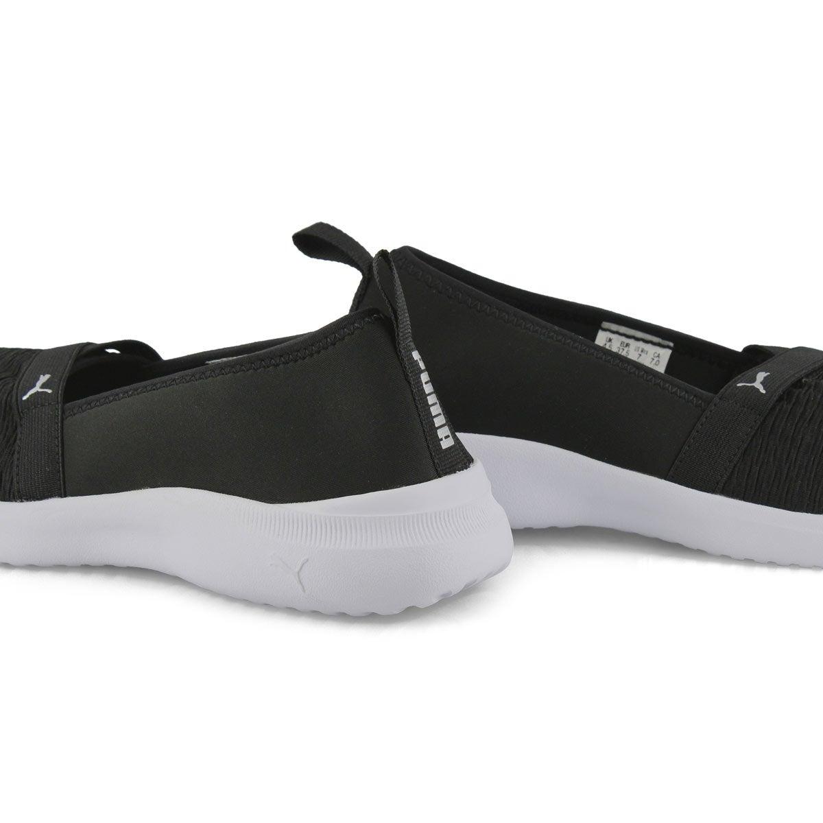 Women's Adelina Shoe - Black/Silver