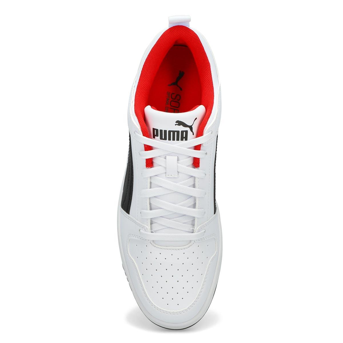 Men's Rebound Layup Low SL Sneaker -White/Black