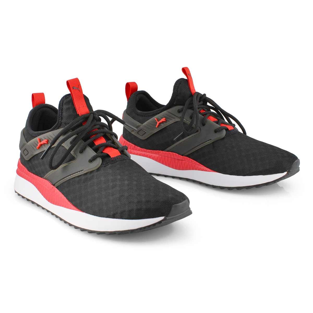 Men's Pacer Next Excel Sneaker - black/white