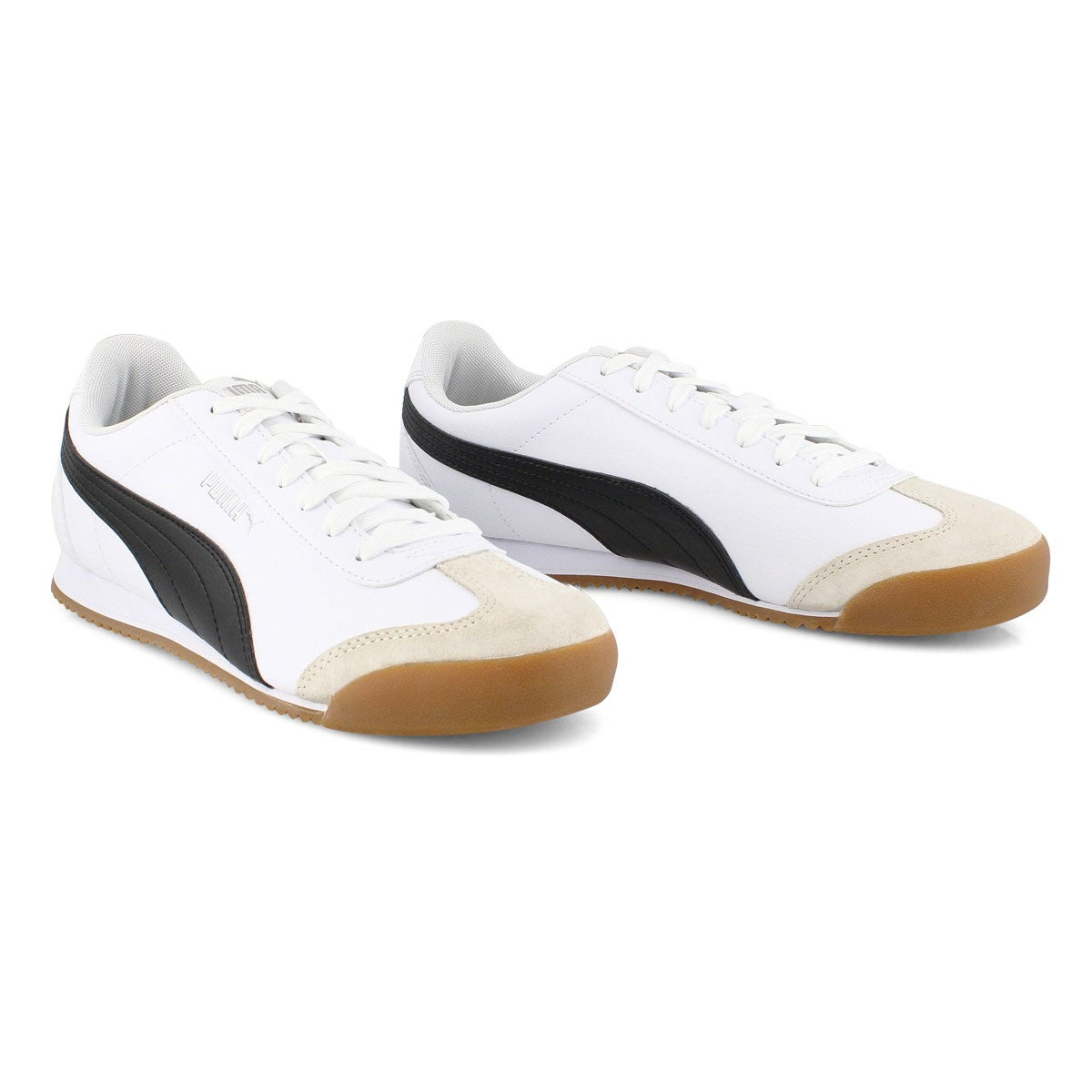 Men's TURINO white/black fashion sneakers