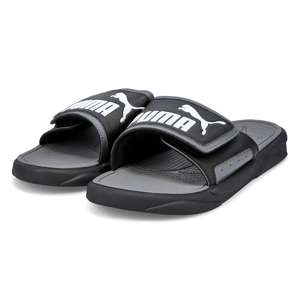 Mens' Royal Cat Sandal - Black/White