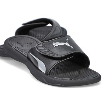 Womens' Royal Cat Sandal - Black/Silver