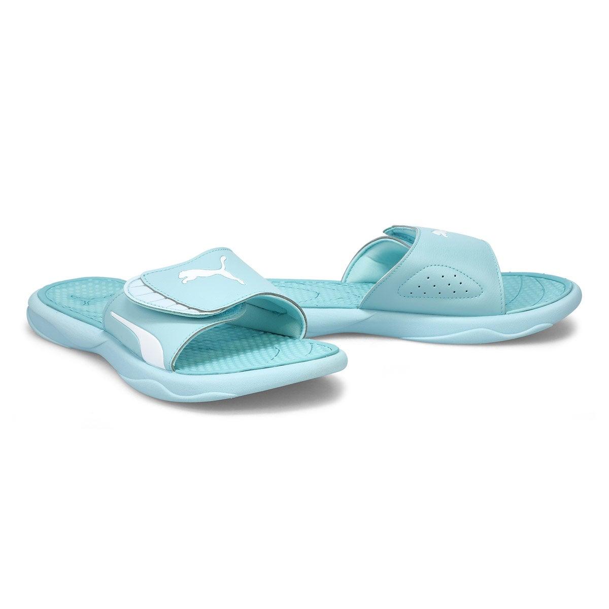 Womens' Royal Cat Sandal - Blue Glow/White