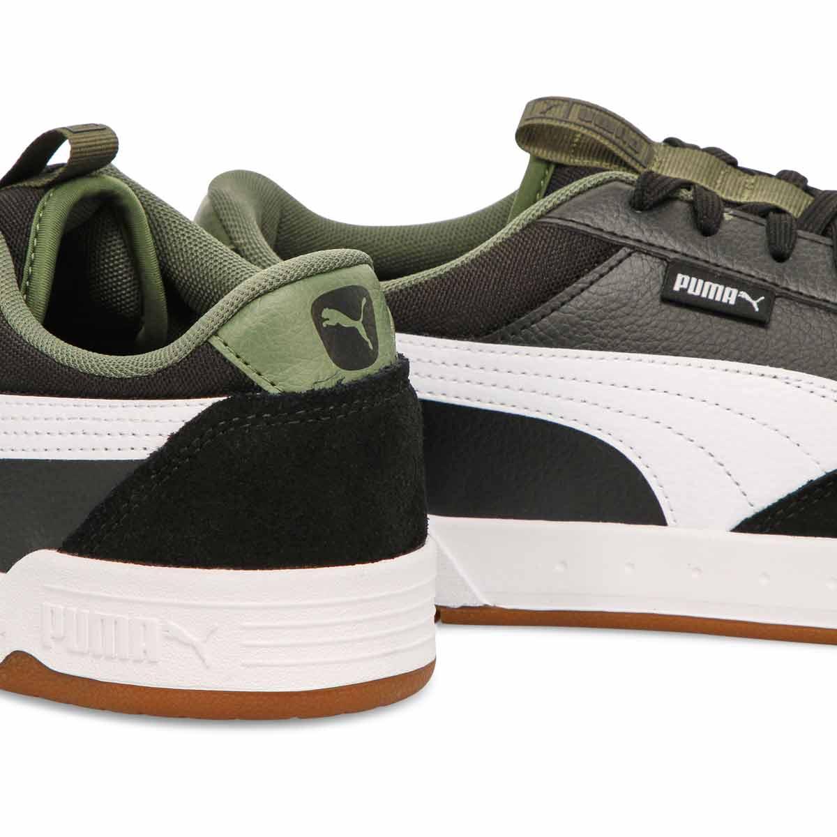 Men's Puma C-Skate Sneaker - Black/ White