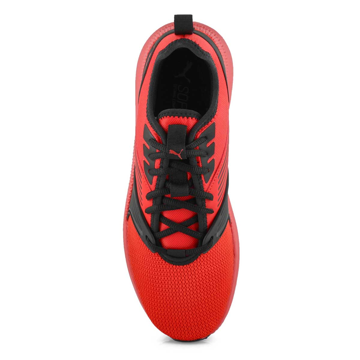 Mns Pacer Next FFWD red/blk laceup snkr