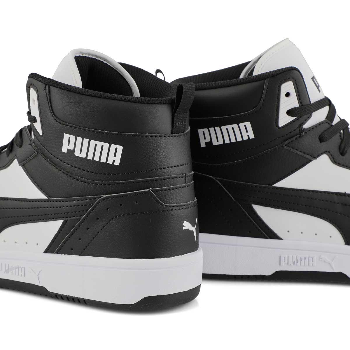 Men's Rebound Joy Sneaker - Black/ White