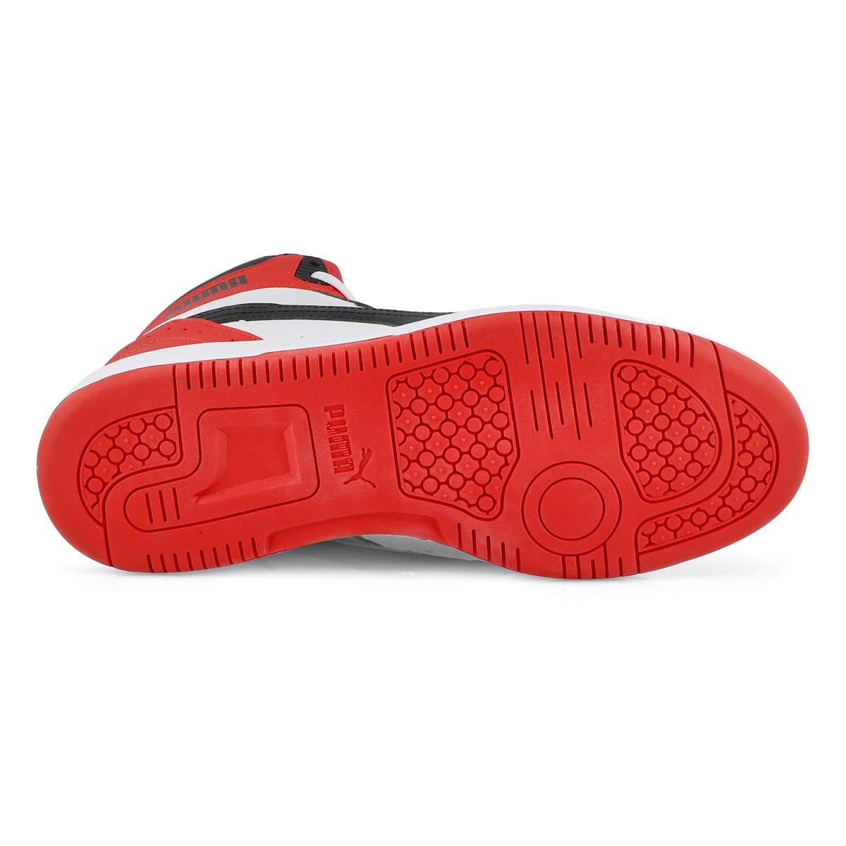 Men's Rebound Joy Sneaker - Black/ Red