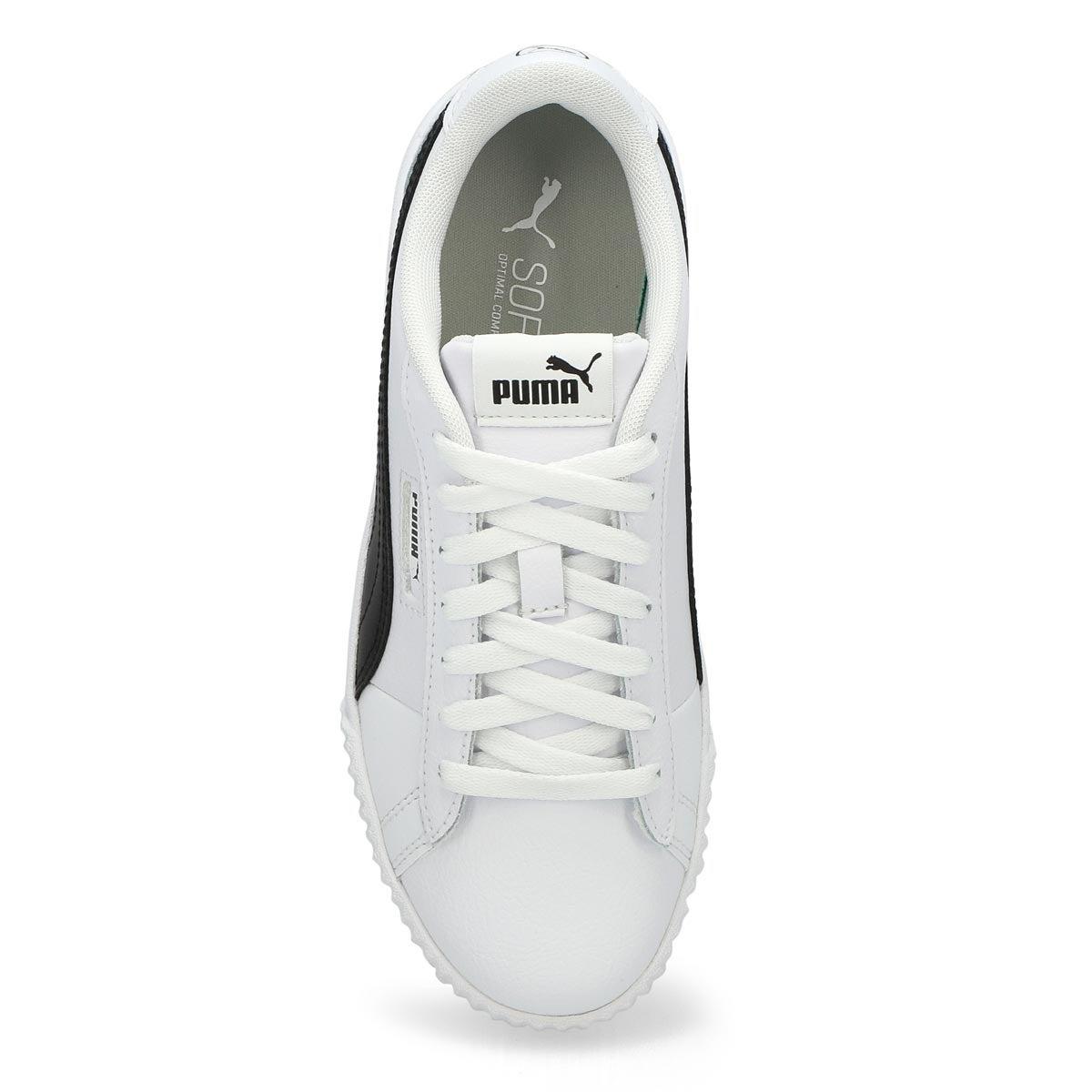 Women's Carina Crew Sneaker - White /Black