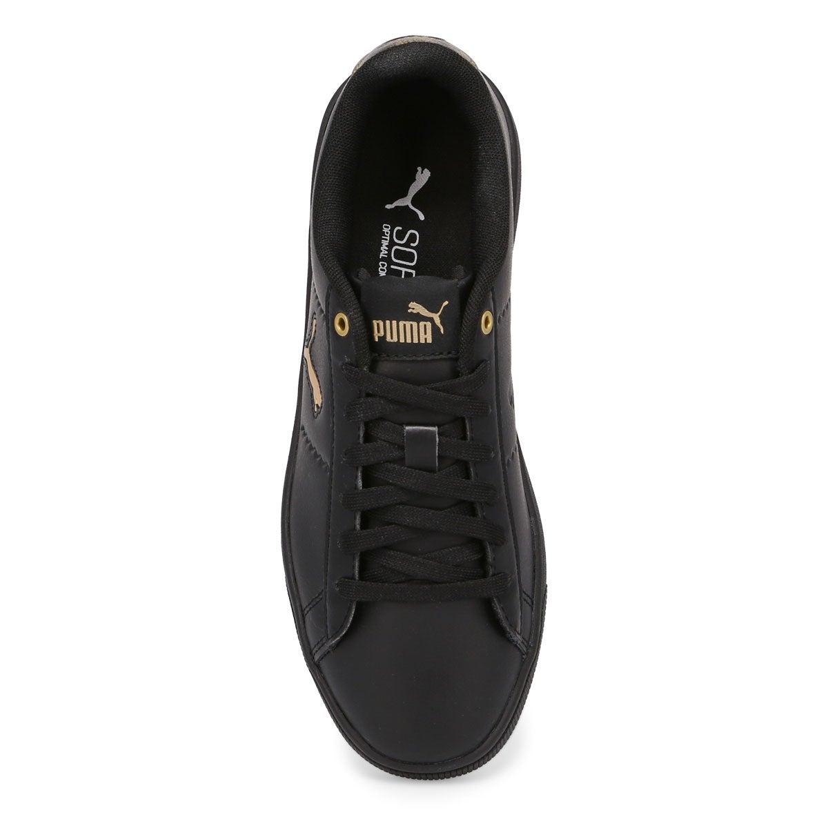 Women's Puma Vikky V2 Cat Sneaker- metallic bk/gd