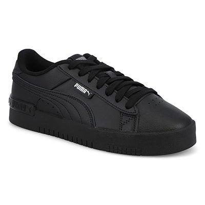 Lds Jada Lace Up Sneaker-Black/Silver
