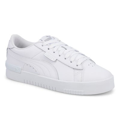 Lds Jada Lace Up Sneaker-White
