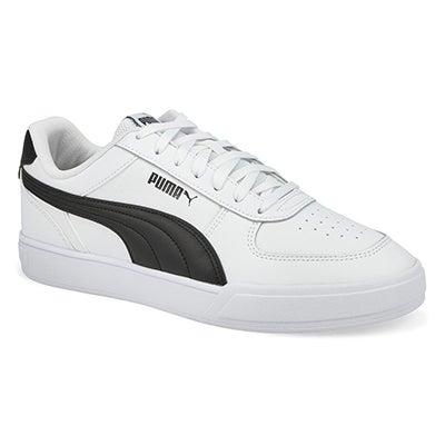 Mns Puma Caven Sneaker-White/Black