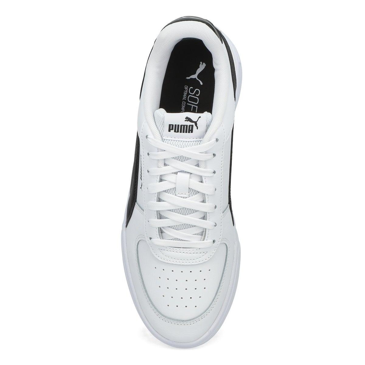 Men's Puma Caven Sneaker-White/Black