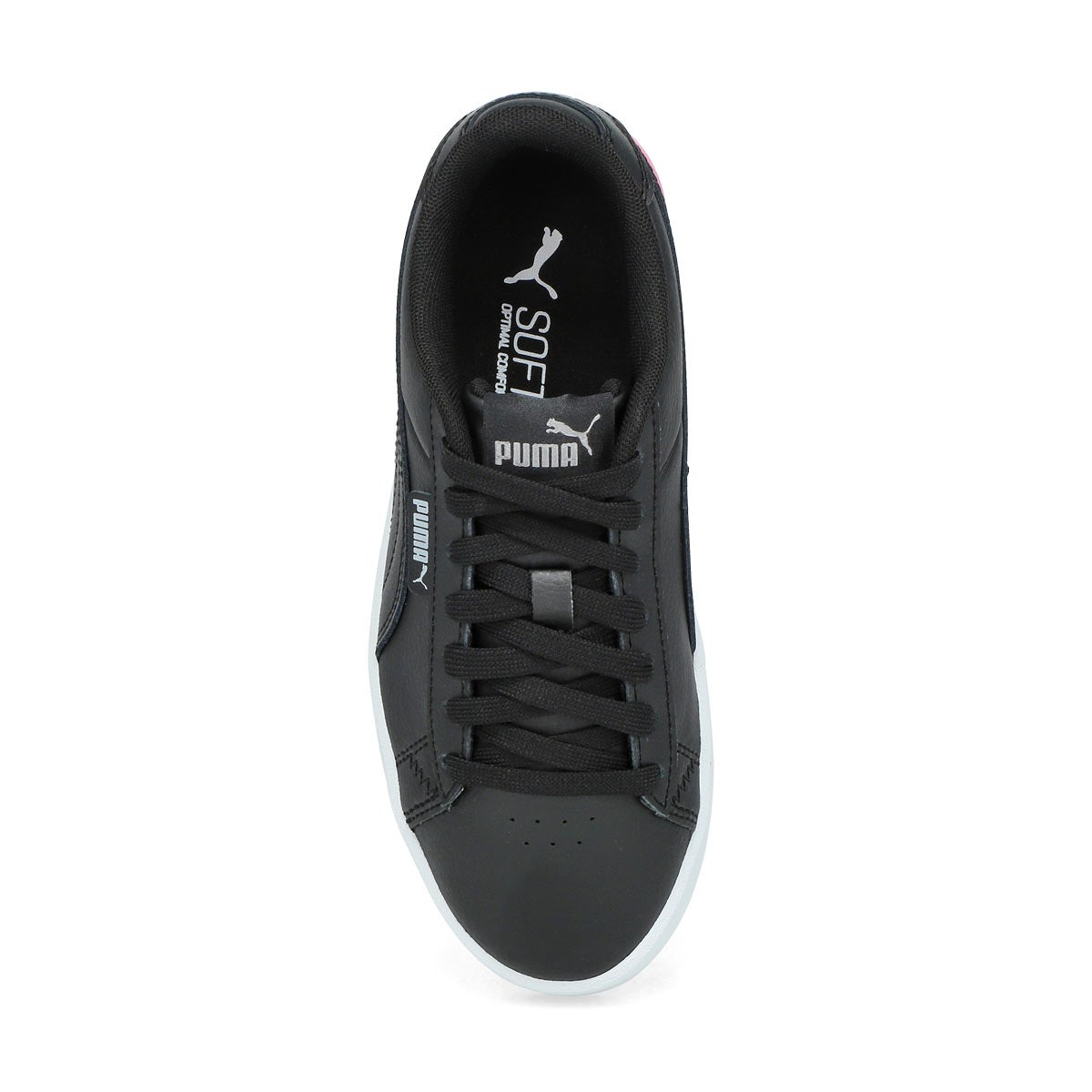 Girls' Puma Jada Jr Sneaker- Black/Silver/Peony