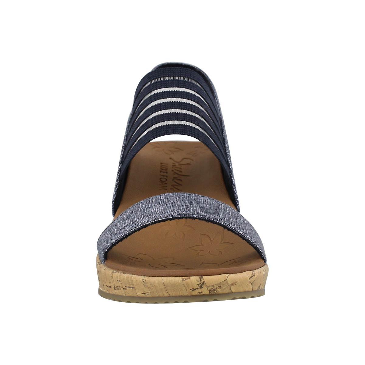Women's BEVERLEE SMITTEN nvy wedge sandals