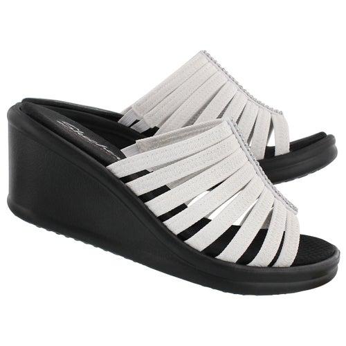 Sandale à talon comp Hotshot, blanc, fem