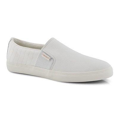 Lds Gazon 2.0 319 2 wht slip on sneaker