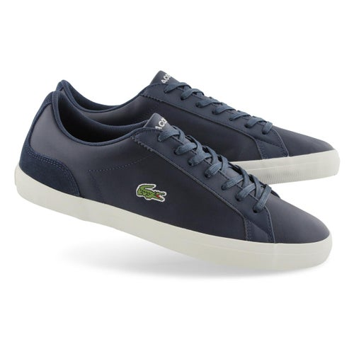 Mns Lerond 319 1 navy/white lace up snkr