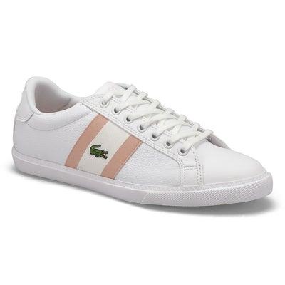 Lds Grad Vulc 120 1 Sneaker- Wht/Pnk