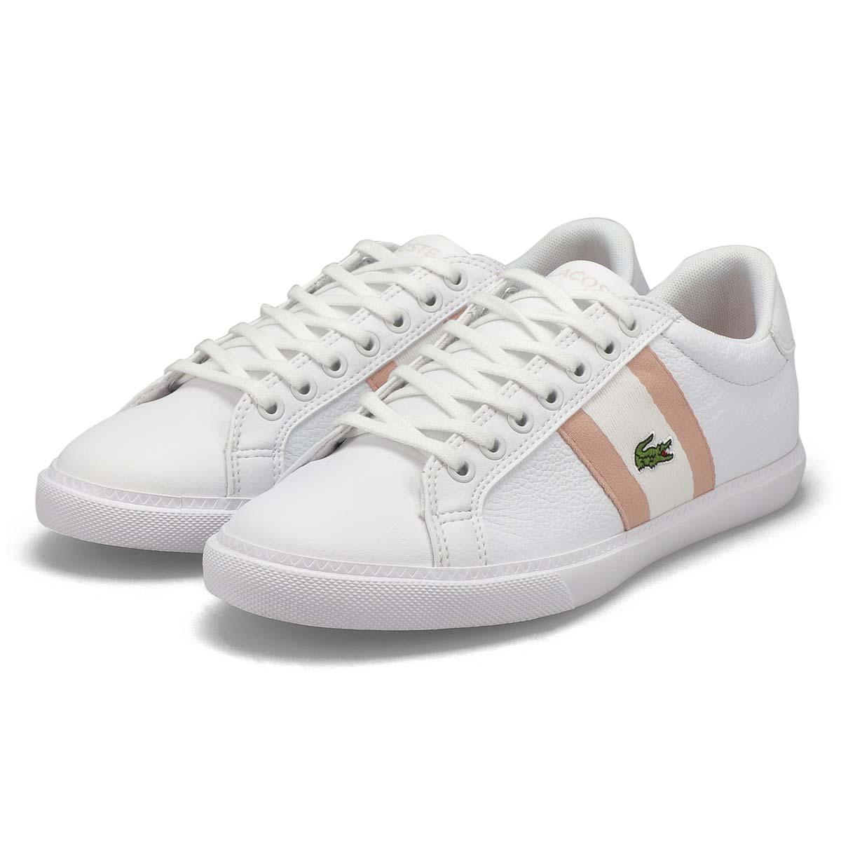 Women's Grad Vulc 120 Sneaker - White/Pink