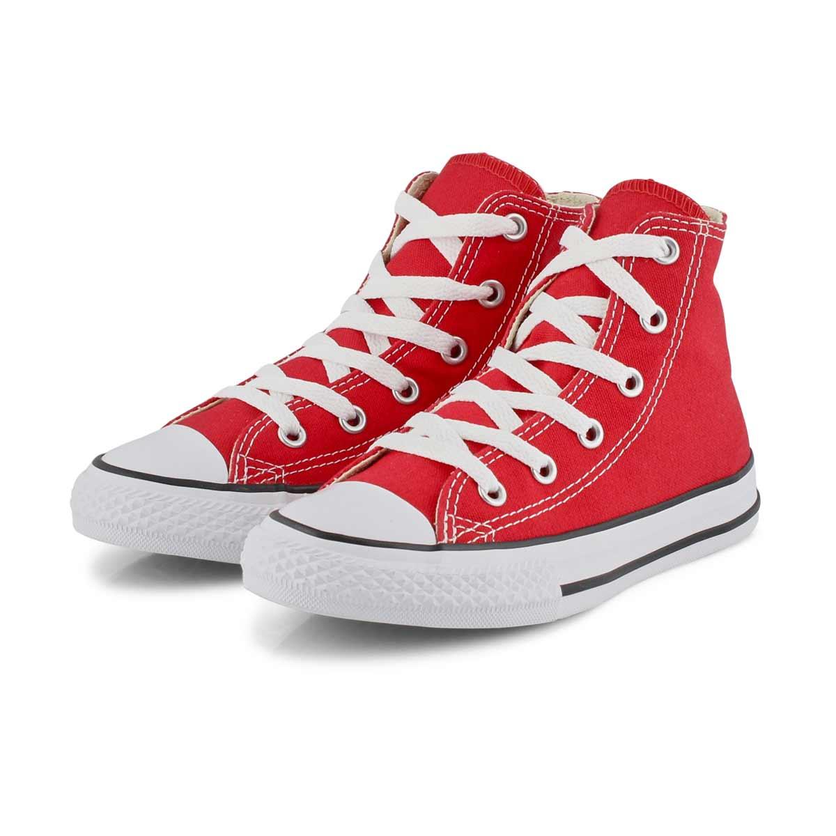 Kids' Chuck Taylor All Star Hi Top Sneaker - Red