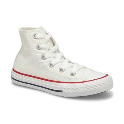 Converse Kids' CHUCK TAYLOR ALL STAR white sneakers