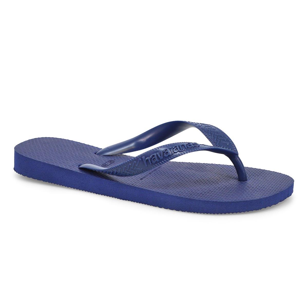 Women's Top Flip Flops - Navy Blue