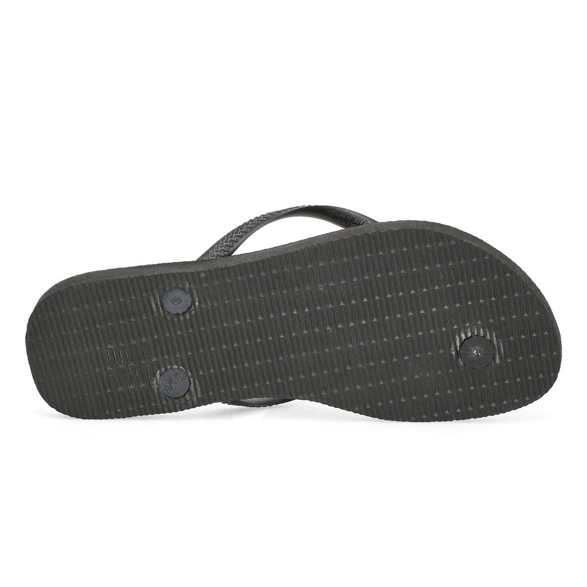 Women's Slim Flip Flop - Black