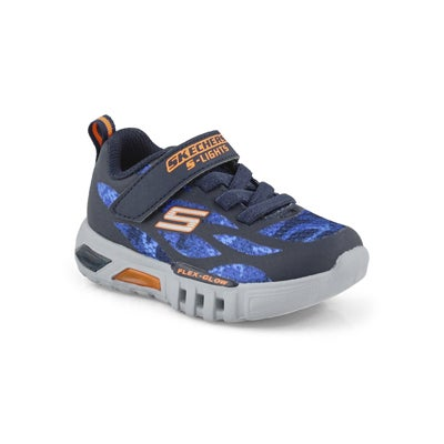 Infs-b Flex-Glow nvy/org sneaker