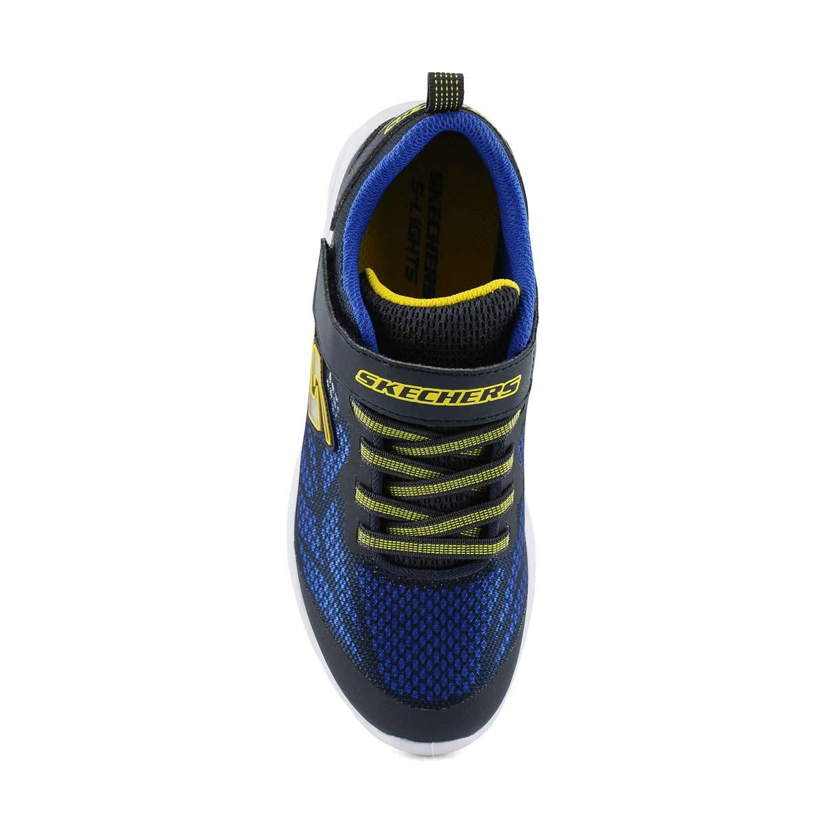 Boys' Vortex-Flash Sneakers - Navy/Yellow