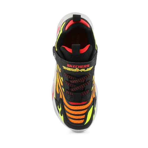 Bys Thermo-Flash Light Up blk/rd sneaker
