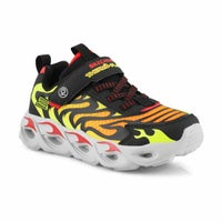 Boys' Thermo-Flash Light Up Sneakers - Black/Red