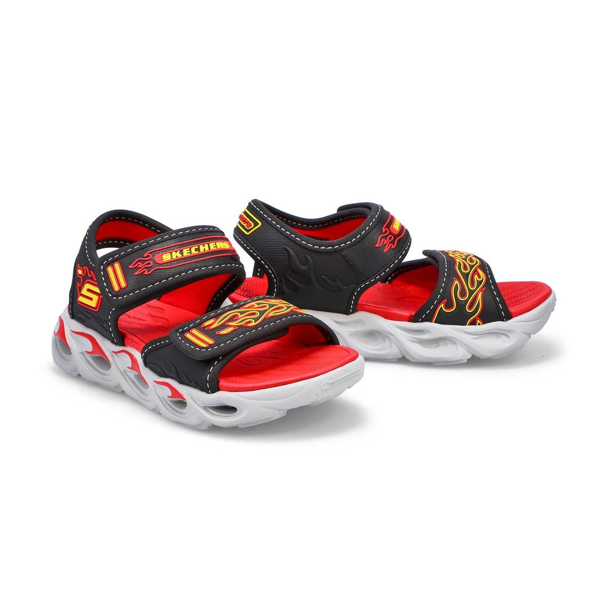 Boys' Thermo Splash Sandal - Black/Red