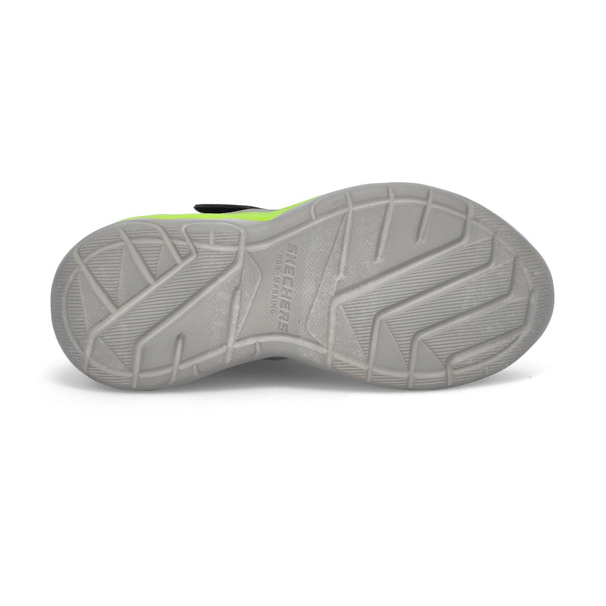 Boys' Erupters IV Sneaker -Black/Lime Green