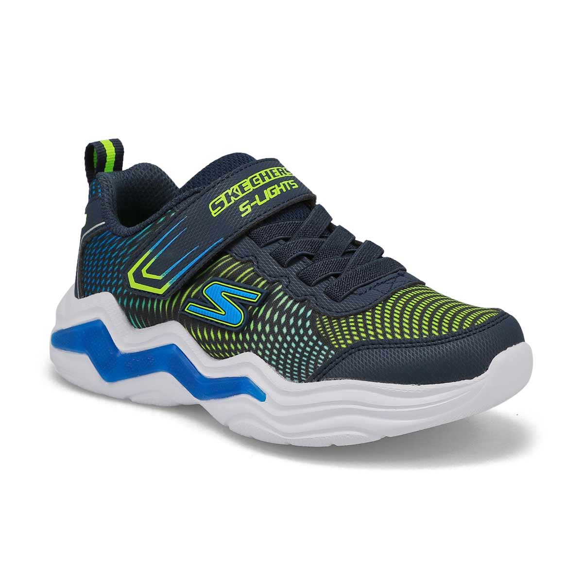 Boys' Erupters IV Sneakers - Navy/Lime
