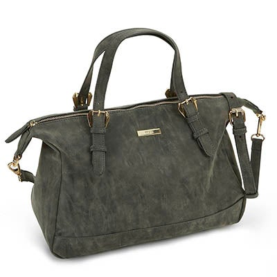Heys Women's VINTAGE black satchel