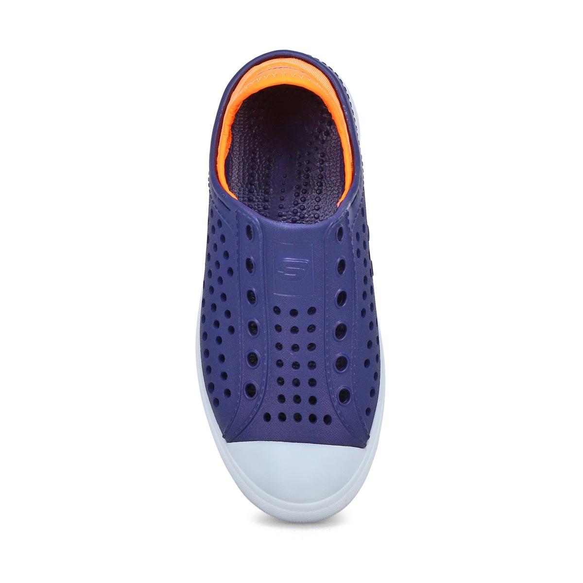 Boys' Guzman Flash Lighted Shoe - Navy/Orange