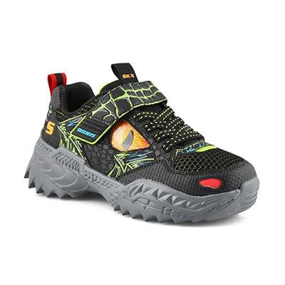 Bys Skech-O-Saurus black/lime sneaker