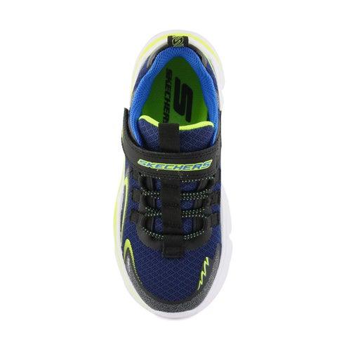 Bys Wavetronic black/navy strap sneaker