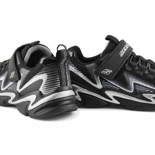 Bys Wavetronic blk/silver strap sneaker
